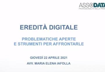eredità digitale studio legale iafolla